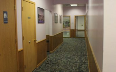 Bathrooms and Back Hallway